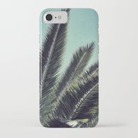 palms iPhone & iPod Cases featuring Palms by RichCaspian