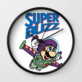 Super Buzz Lightyear Wall Clock