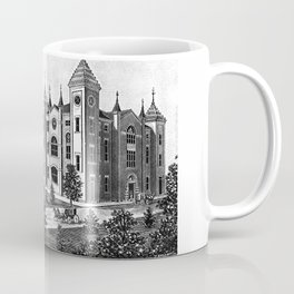 Hardin College & Conservatory of Music in Mexico, Missouri, 1892 Poster Coffee Mug