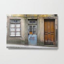 Portugal Doors 3 Metal Print