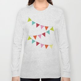 Hooray for girls! Long Sleeve T-shirt
