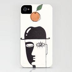 clockwork orange iPhone (4, 4s) Slim Case