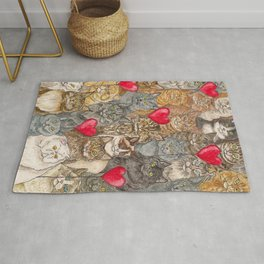 Love, Cats. Rug