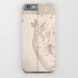 Johann Bayer - Uranometria / Measuring the Heavens (1661) - 44 Lupus / The Wolf iPhone Case
