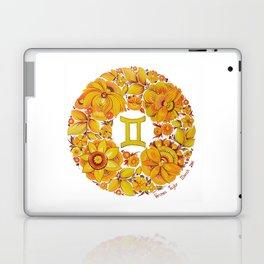 Gemini in Petrykivka style (with signature) Laptop & iPad Skin