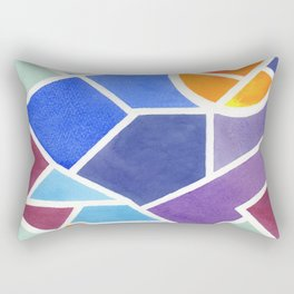 The Myth of Credibility Rectangular Pillow