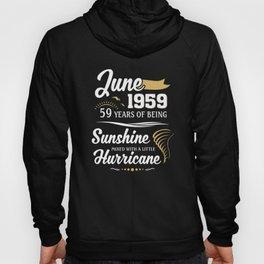 June 1959 Sunshine mixed Hurricane Hoody