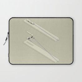 Clothespin shotgun Laptop Sleeve