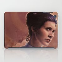 leia iPad Cases featuring Leia by Jackie Sullivan