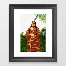 Chickasaw Framed Art Print