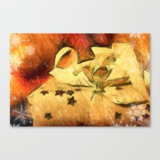 lovely present  Canvas Print