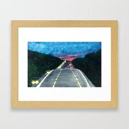 Georgia Drive Framed Art Print