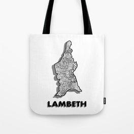 Lambeth - London Boroughs - Detailed Tote Bag