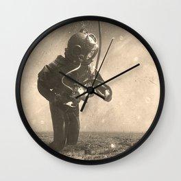 Underwater City Wall Clock