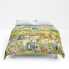 The Garden of Earthly Delights Comforters
