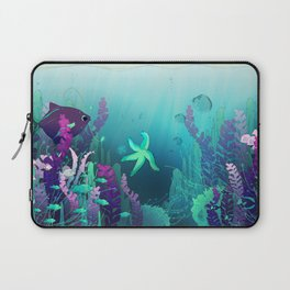 Deep down in the water Laptop Sleeve