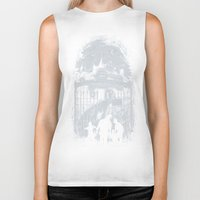 zombies Biker Tanks featuring Zombies Inn by nicebleed