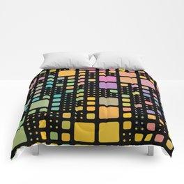 Pop Squares Comforters