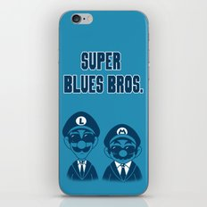 Super Blues Bros. iPhone & iPod Skin