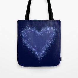 Snow Love Tote Bag
