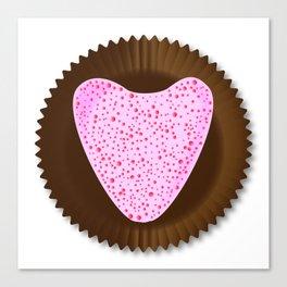 Chocolate Box Heart Canvas Print