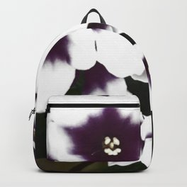 white violet Backpack
