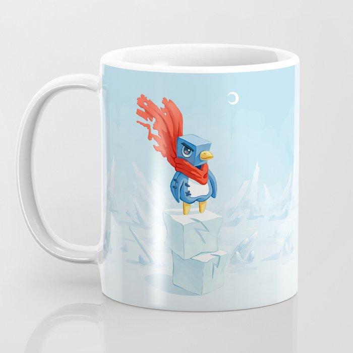 Super Penguin Coffee Mug
