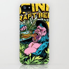 Drink Craft Beer iPhone Case