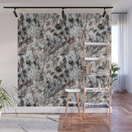Snow Leopard Fur 03 Wall Mural