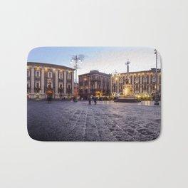 Piazza Duomo in Catania Bath Mat
