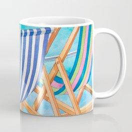 Beach Chairs 1 Coffee Mug