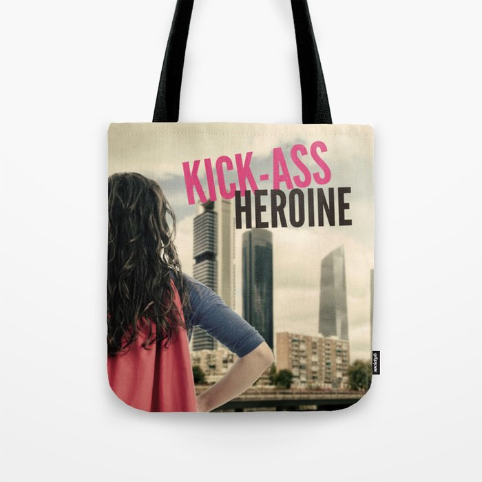 Kick-Ass Heroine Tote Bag