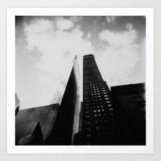 As High as the Sky  Art Print