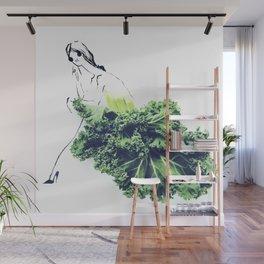 Edible Ensembles: Kale Wall Mural