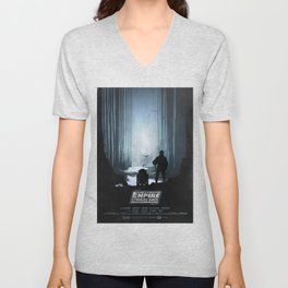 The Empire Strikes Back (1980) Movie Poster Unisex V-Neck