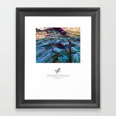 north ontario Framed Art Print