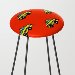 NYC Taxi Cabs Counter Stool