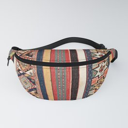 Salé  Antique Morocco North African Flatweave Rug Print Fanny Pack