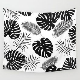 TROPICAL LEAVES 7 Wall Tapestry