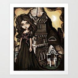 Gucc! Witch Art Print