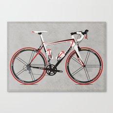 Race Bike Canvas Print