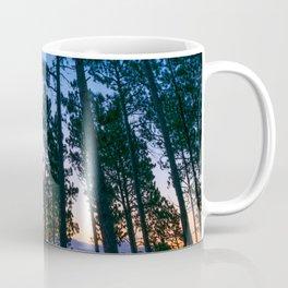 South Dakota Sunrise Forest Print Coffee Mug