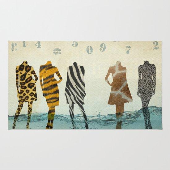 fashion line up Rug