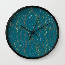 Chaotic Nature Wall Clock