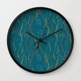 Chaotic Nature Wall Clock