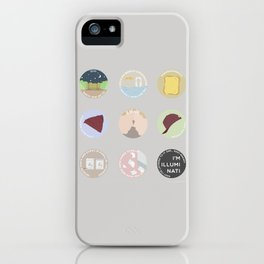 EVAK: A MINIMALIST LOVE STORY iPhone Case