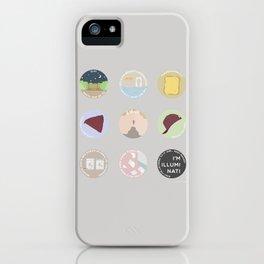 EVAK: A MINIMALIST LOVE STORY iPhone Case