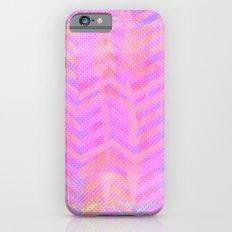 Neon Chevron iPhone 6s Slim Case