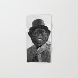 Sir Winston Pug Churchill Hand & Bath Towel