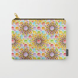 Birthday Party Polka Dots Carry-All Pouch